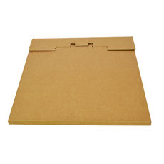 One Piece Postage Box LP Mailer 325mm - Kraft Brown
