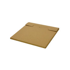 One Piece Postage Box LP Mailer 195mm - Kraft Brown