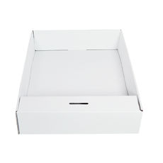 Snack Box with Money Holder - Kraft White