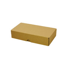 One Piece Postage & Gift Box 7333 - Kraft Brown