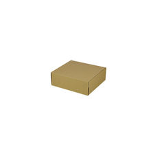 One Piece Postage & Gift Box 7425 -Kraft Brown