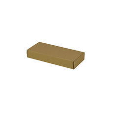 One Piece Postage & Gift Box 7427 - Kraft Brown