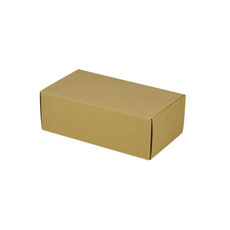 One Piece Postage & Gift Box 7430 - Kraft Brown