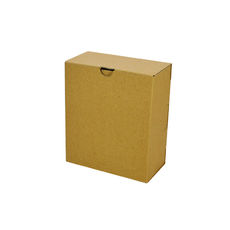 One Piece Postage & Gift Box 7523 -Kraft Brown