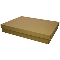 Two Piece Postage & Gift Box 7579 - Kraft Brown