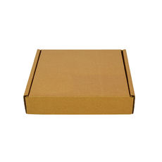 One Piece Postage Box 7640 - Kraft Brown