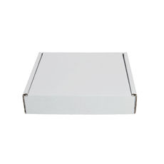 One Piece Postage Box 7640 - Kraft White