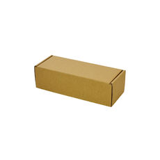 One Piece Postage & Gift Box 7645 - Kraft Brown