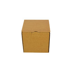 One Piece Postage Box 7695 - Kraft Brown
