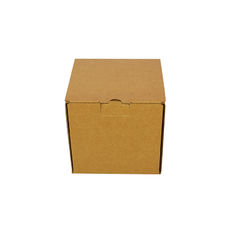 One Piece Postage Box 7696 - Kraft Brown