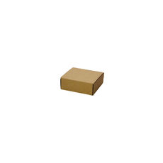 One Piece Postage & Gift Box 8209 -Kraft Brown
