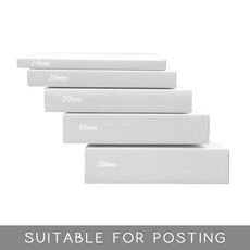 A2 Multi Crease Box White - 1 Box 5 Heights (604mm x 430mm x 5 Different Height)