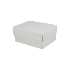 A5 Cardboard Gift Box - White 100mm High
