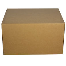 One Piece Postage Box 9131 - Kraft Brown