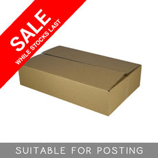 Cardboard RSC Shipping Carton - Medium Express Post - Suits 3kg parcel post satchel