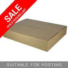 Cardboard RSC Shipping Carton - Large Express Post - Suits 5kg parcel post satchel