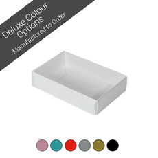 Rectangle 6 Gift Box with Clear Lid - Assorted Colours (Minimum Order 100 units)