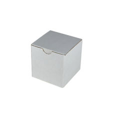 Candle Box 80/80 - White Cardboard