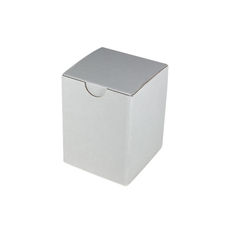 Candle Box 80/100 - White Cardboard