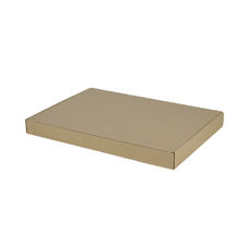 A4 Oversized One Piece Gift Box - Brown Cardboard