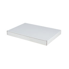 A4 Oversized One Piece Gift Box - White Cardboard