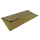 DL Gift Voucher Pouch - Gloss Gold (215 x 105 x 2mm)