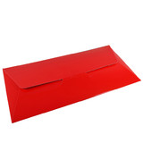 DL Gift Voucher Pouch - Gloss Red (215 x 105 x 2mm)
