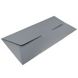DL Gift Voucher Pouch - Gloss Silver (215 x 105 x 2mm)