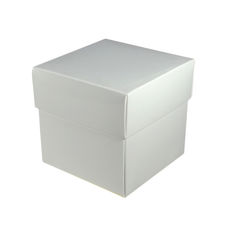 Square Midi Gift Box - Gloss White