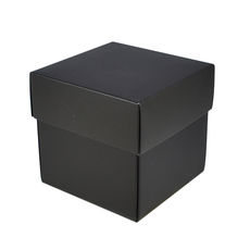 Square Midi Gift Box - Matt Black