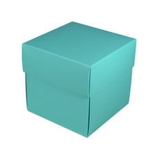 Square Midi Gift Box - Matt Blue