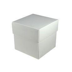 Square Small Gift Box - Gloss White