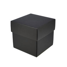 Square Small Gift Box - Matt Black