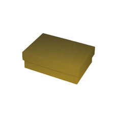 NOW $1.50ea - 210 x Slim Line A6 Gift Box - Gloss Gold