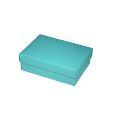 Slim Line A6 Gift Box - Matt Blue