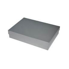 Slim Line A5 Gift Box - Gloss Silver