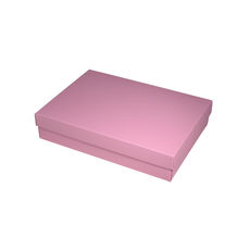 NOW $2.30ea - 135 x Slim Line A5 Gift Box - Matt Pink