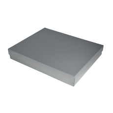 Slim Line A4 Gift Box - Gloss Silver