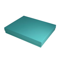 Slim Line A4 Gift Box - Matt Blue