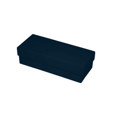 Slim Line Sunglasses Gift Box - Gloss Navy Blue