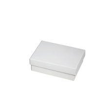Slim Line Jewellery Box Medium - White