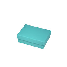 Slim Line Jewellery Box Medium  - Matt Blue