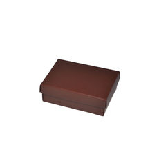 Slim Line Jewellery Box Medium  - Matt Chocolate