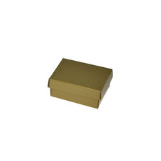 NOW $1.00ea - 80 x Slim Line Jewellery Box Small - Gloss Gold
