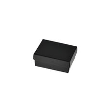 Slim Line Jewellery Box Small - Matt Black
