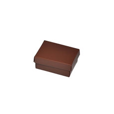 Slim Line Jewellery Box Small - Matt Chocolate