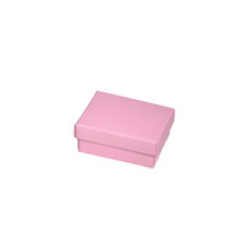 NOW $1.00ea - 50 x Slim Line Jewellery Box Small - Matt Pink