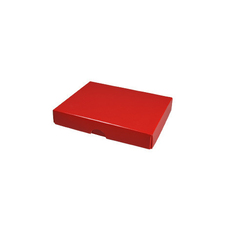 Slim Line Jewellery Box Large - Gloss Red