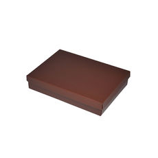 NOW $1.80ea - 100 x Slim Line Jewellery Box Large - Matt Chocolate