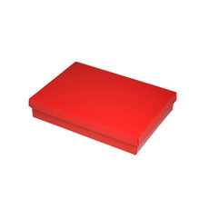 Slim Line C6 Gift Box - Gloss Red